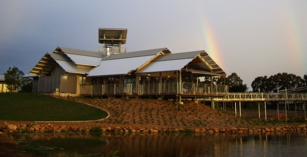 Tyto Wetlands Cultural Precinct  - Ingham, North Qld, 2010