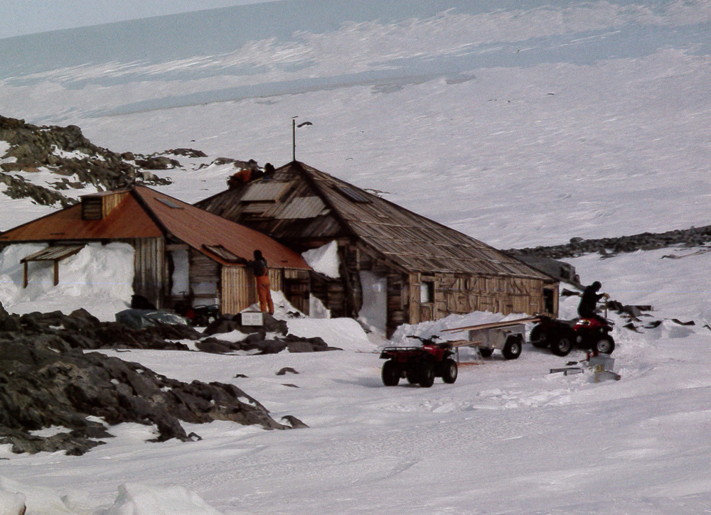 Mawson's Hut , Antarctica