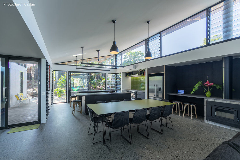 Byron Bay Troppo Architects Concrete Floor