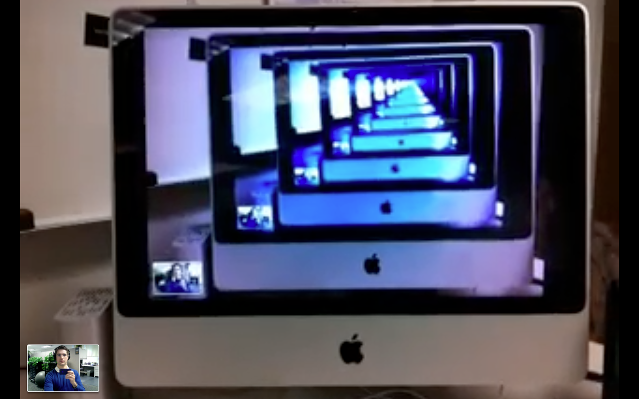 Facetime Wormhole