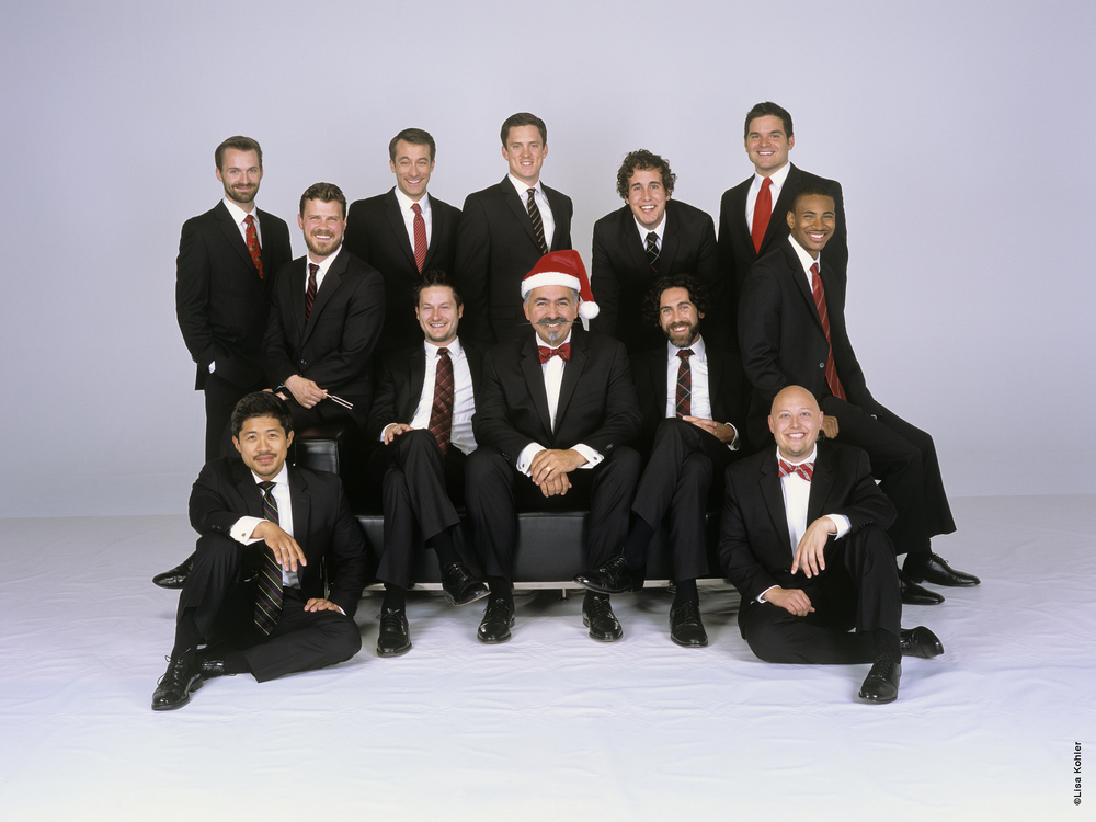 Chanticleer - A 12-voice men's choir based in San Francisco