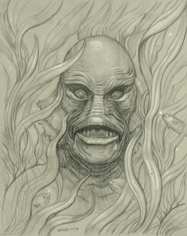 'Creature from the Black Lagoon'