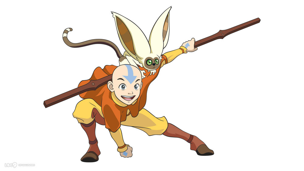 Avatar Aang, from  Avatar: The Last Airbender.