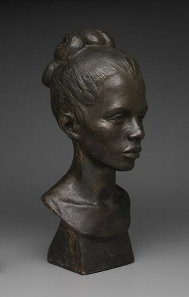Bust of Gwendolyn Knight,  1934-35