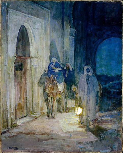 Flight Into Egypt,  1923.