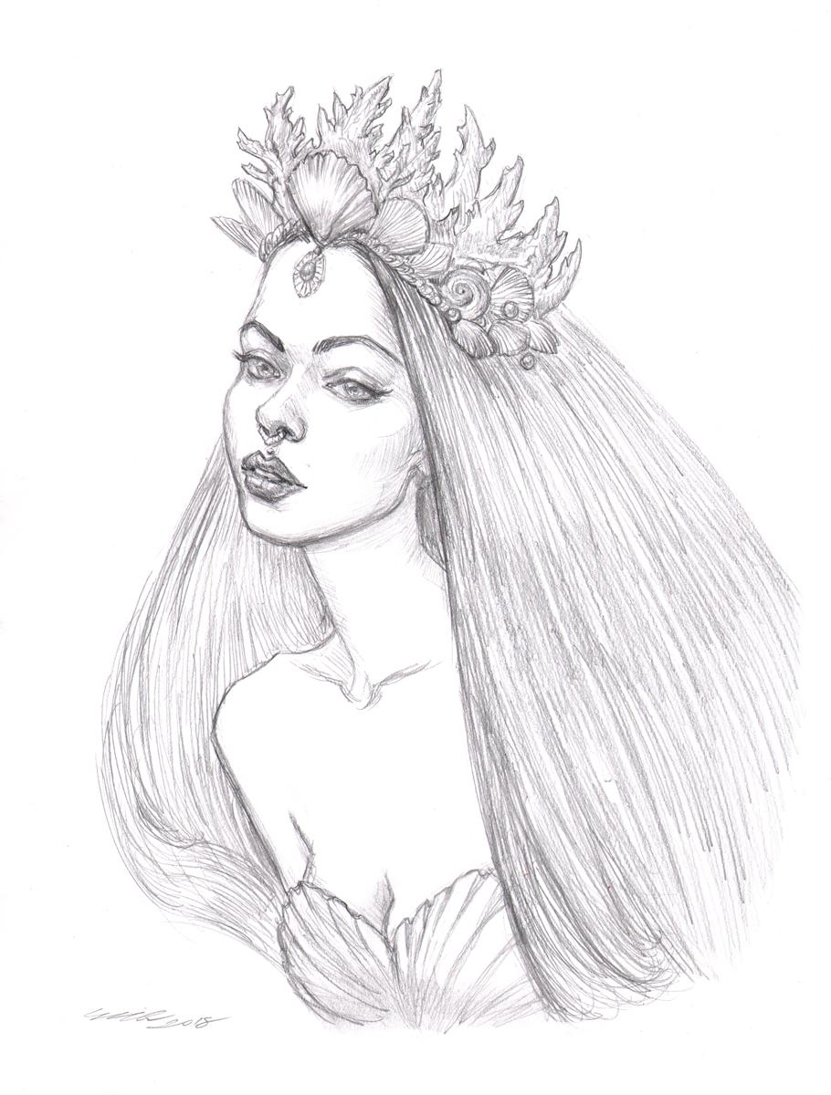 'Deep Sea Priestess'