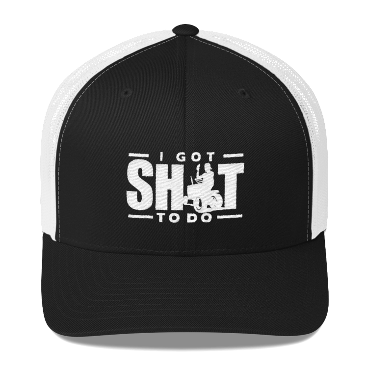 adb43f93f I GOT SHIT TO DO (trucker hat) — Steve Jessup