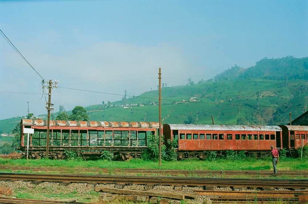 Abandoned train Ella, Sri Lanka