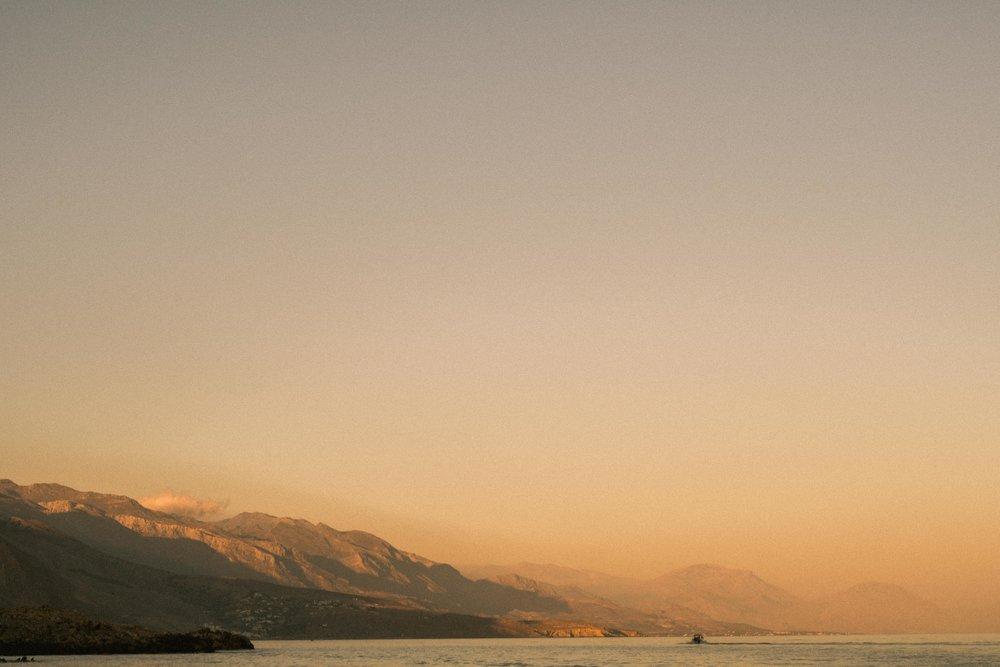 Loutro, Crete at sunrise
