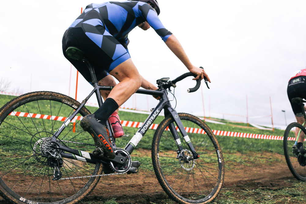 BTR  - TREADLY IS A PROUD SPONSOR OF THE LOCAL CYCLOCROSS TEAM, BOMBTRACK TREADLY RACING.