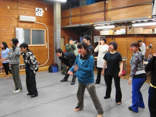 Clown Workshop- Instructor-Tokyo University Theatre Majors