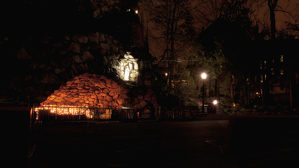 The Grotto, Notre Dame