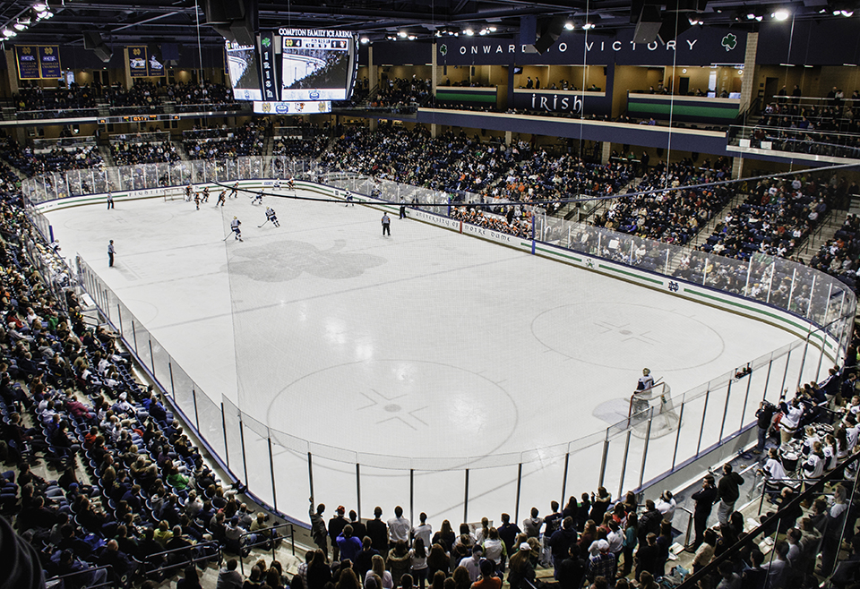 Compton Family Ice Arena, March 2013.