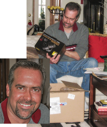 Jonathon, Christmas, 2009.