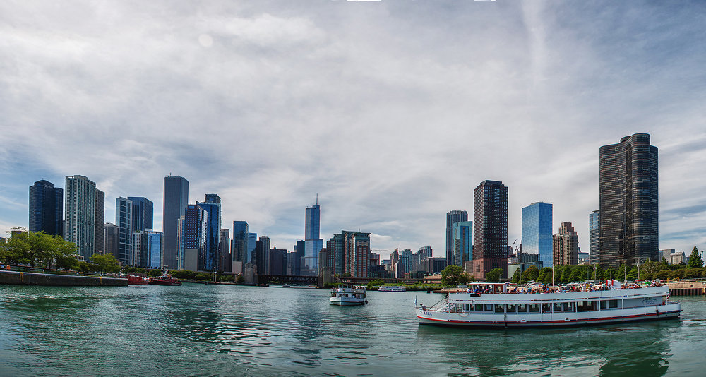 Original Chicago Riverboat Tour Photo Taken July 2013