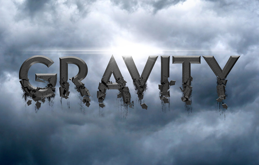 Gravity 3D - 2017Spin-off of an Marvel X-Men Movie PosterPhotoshop CC 3D