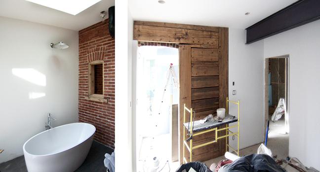 fin de chantier: rénovation, Plateau Mont-Royal, Montréal, QC.