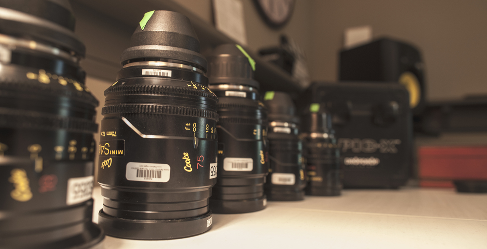 The Cooke Panchro mini S4/i Primes uncoated (T2.8 to T22 aperture)