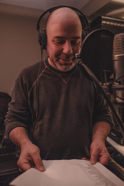 Ivan Jenson - Voice Over Session