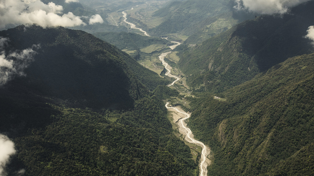 The Seti Gandaki River  Western Region, Nepal