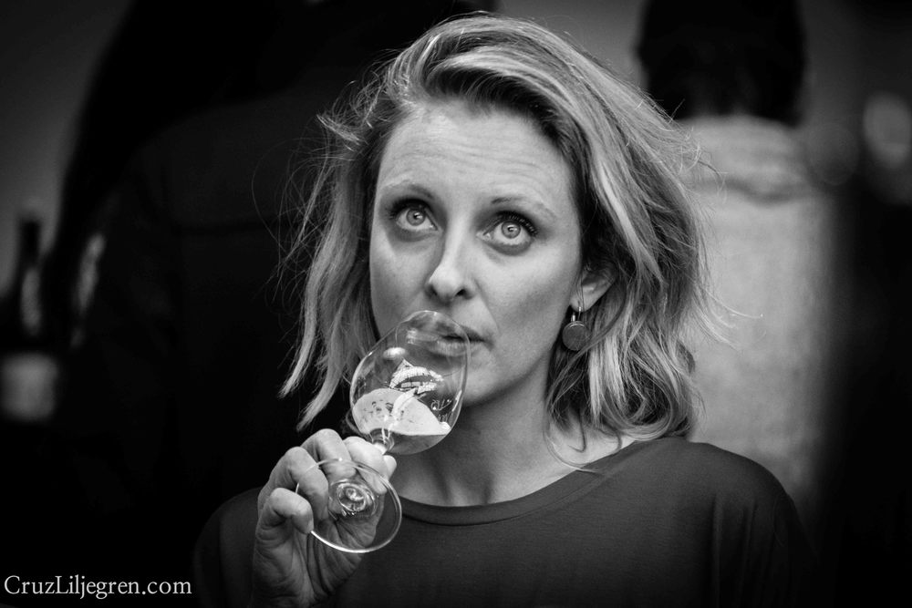 "A shot I took recently of Yulia Sharapova, one of the most influencial wine buyers in Ukraine: ""90% of the time I know what to buy just by a fast whiff,"" she said. #portraitofabuyer"