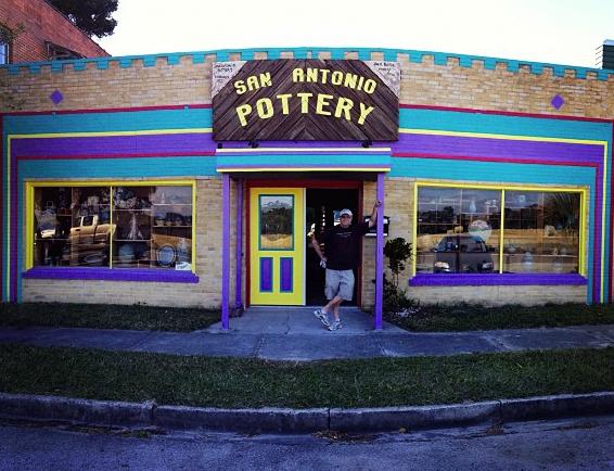 San Antonio Pottery.