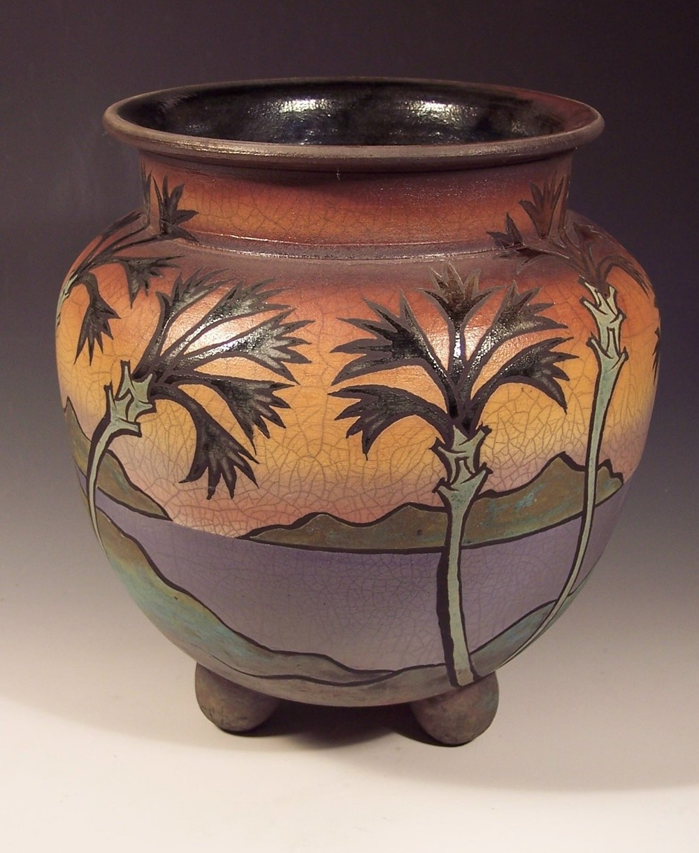 4. Tripod Vessel with Palms.jpg