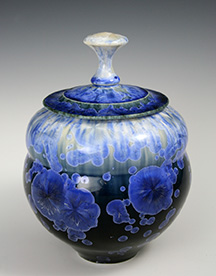 keiths gloss lidded jar blue.jpg