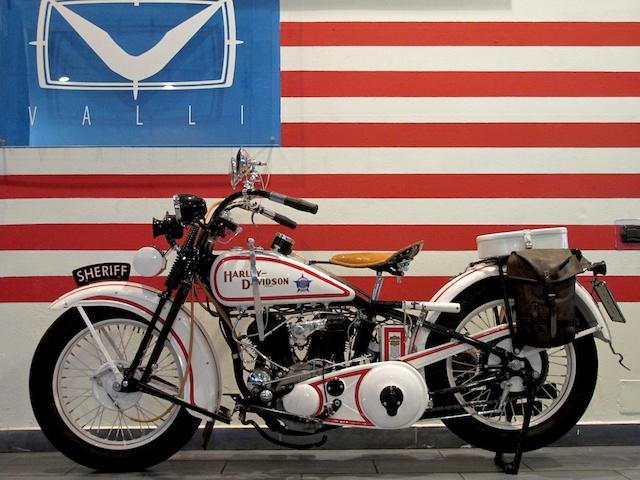 Incredibile : 1930 Harley Davidson Chicago Sheriff