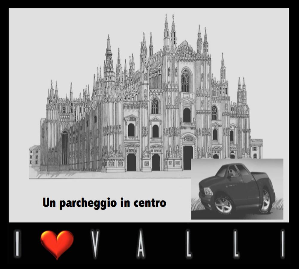 Vallistore : Un parcheggio in centro
