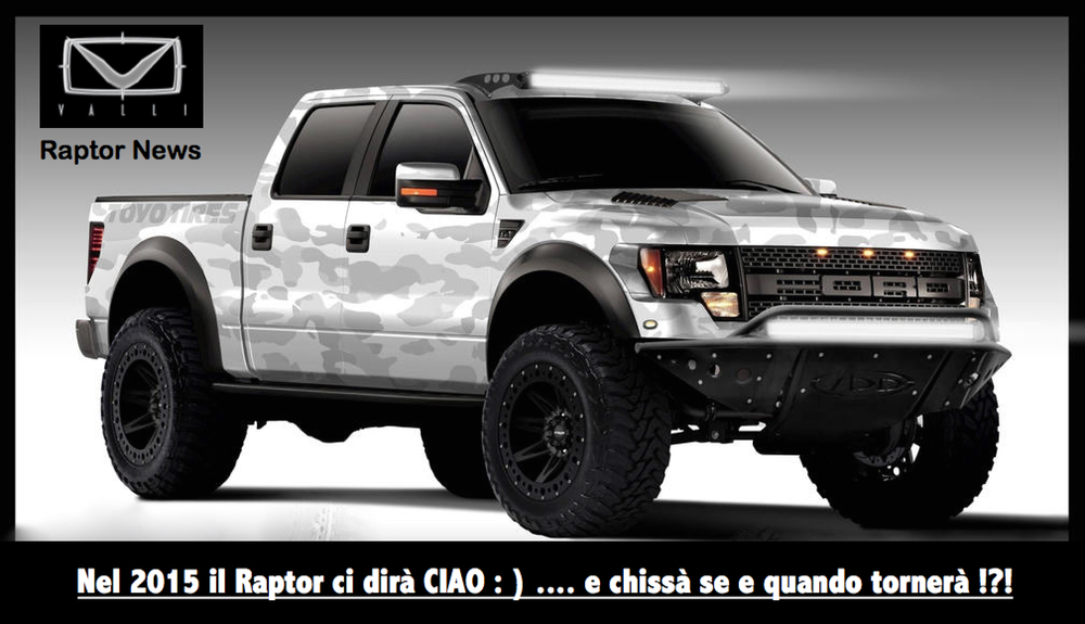 2015 Ford F150 Raptor Vallistore