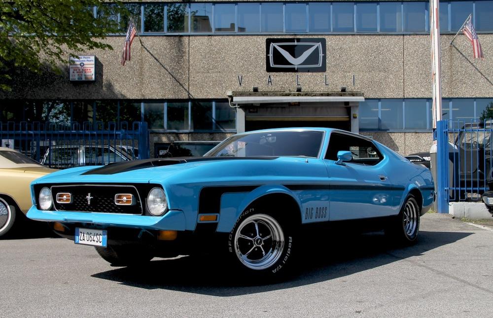Mustang Mach1 351 cleveland