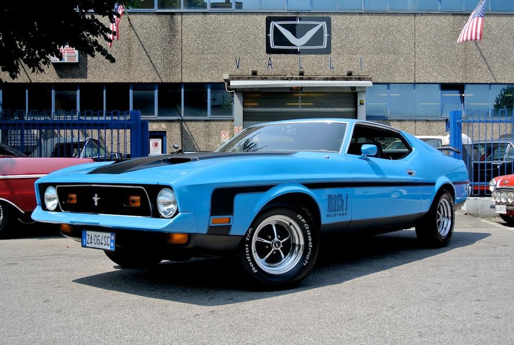 1971 Mustang Mach1 vallistore