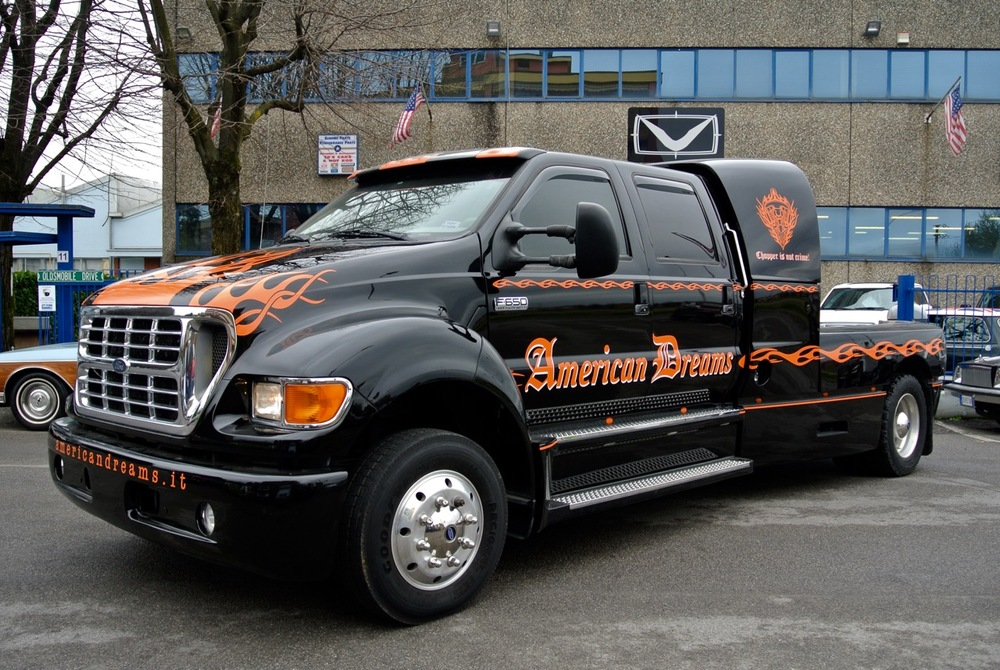Ford F650 Super Crewzer