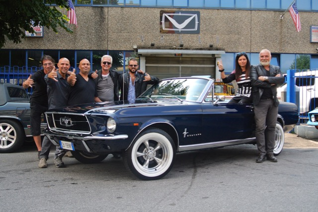 1967 Ford Mustang 289 V8 Automatica Convertible 2015 09 12 Consegna 02.jpg