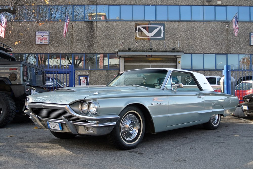 1964 thunderbird hard-top coupè 4 sale