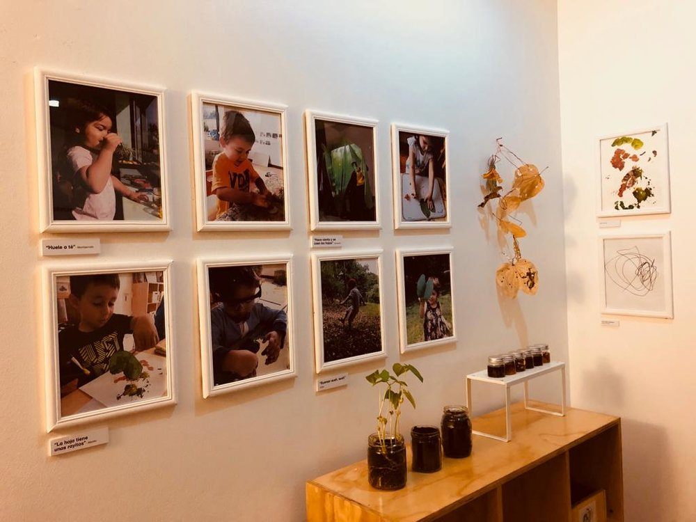Exposición en Bellelli Santa Ana, 2018.