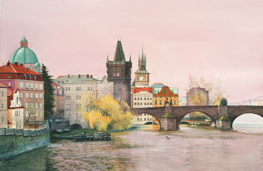 """Prague On The Charles River"""