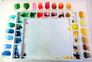 Watercolor Palette Layout 1