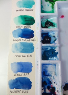 Watercolor Palette Layout 2