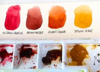 Watercolor Palette Layout 4