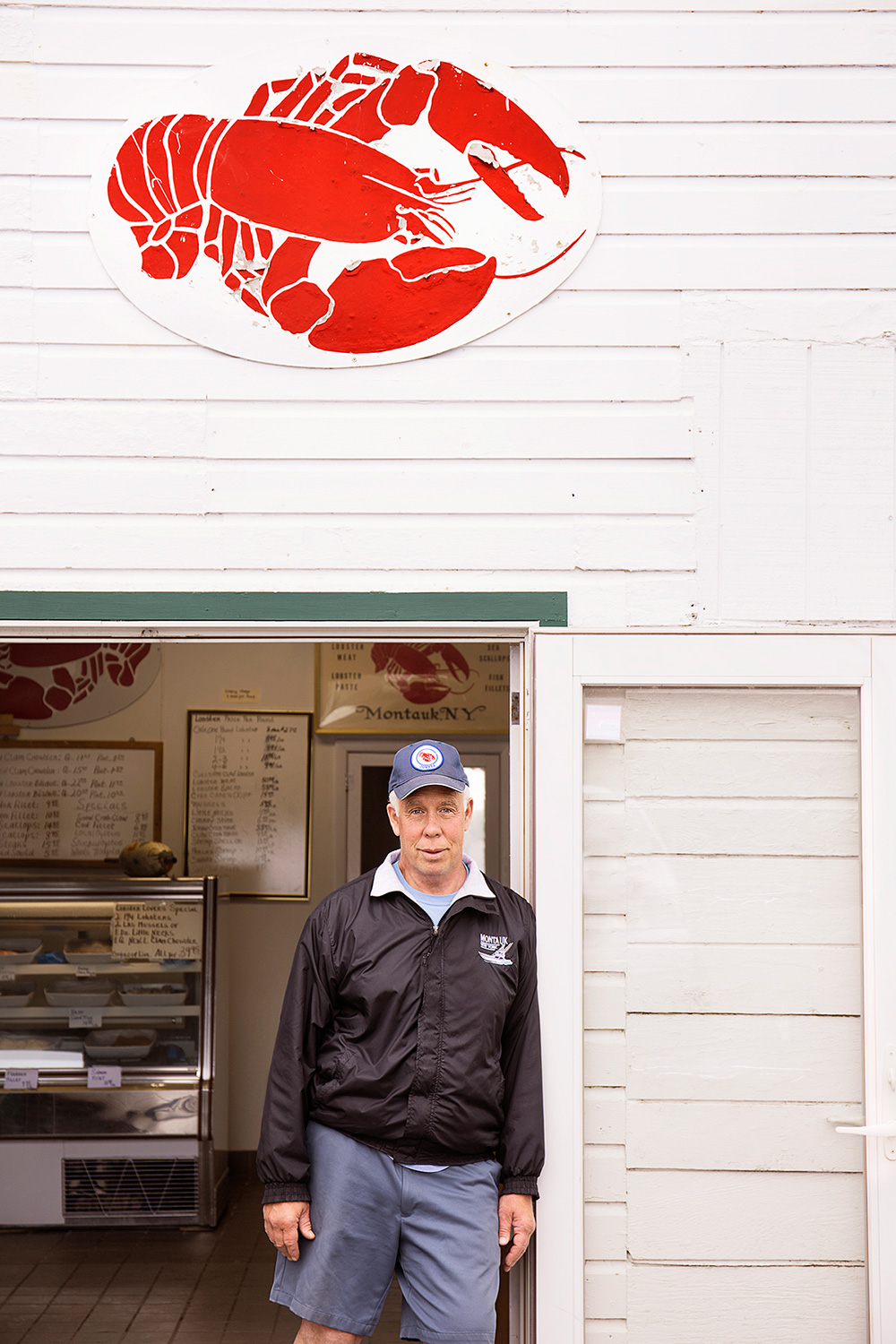 Chip Duryea, Owner, Duryea's Lobster Deck & Seafood Market, Tuthill Road