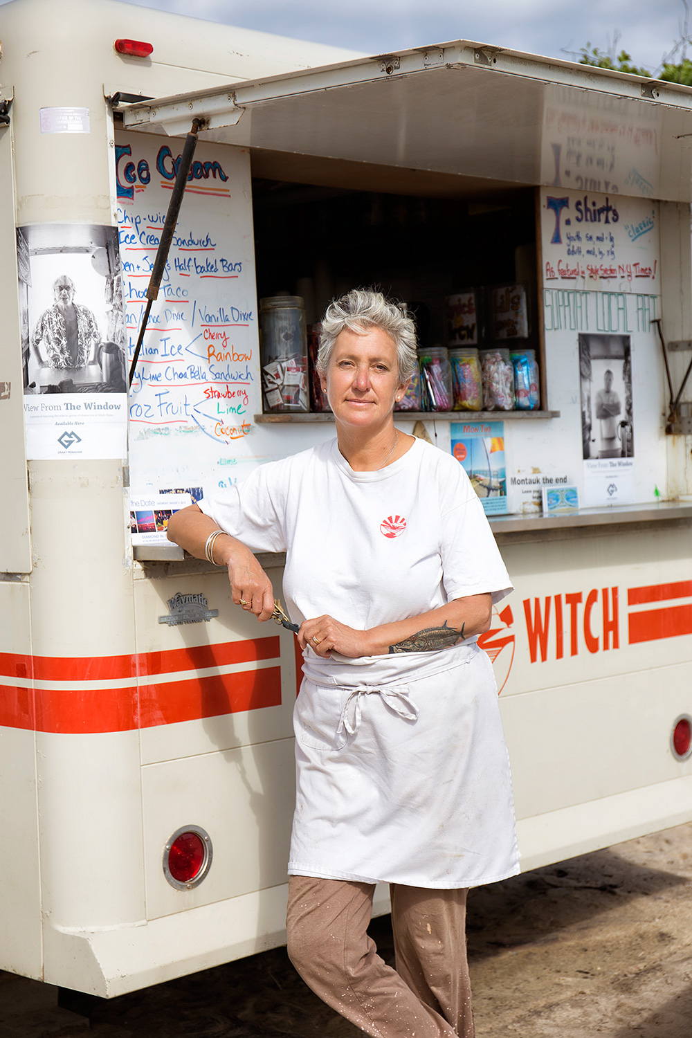 Lily Adams, Owner, Ditch Witch Food Truck, Ditch Plains Beach