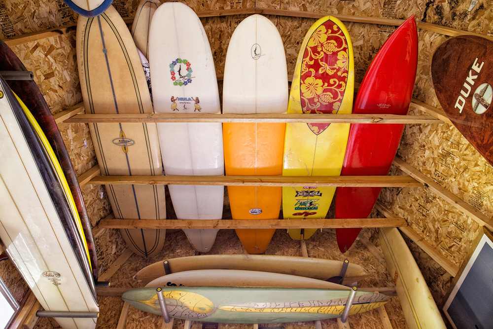 Surf Boards, Tony Caramanico Barn