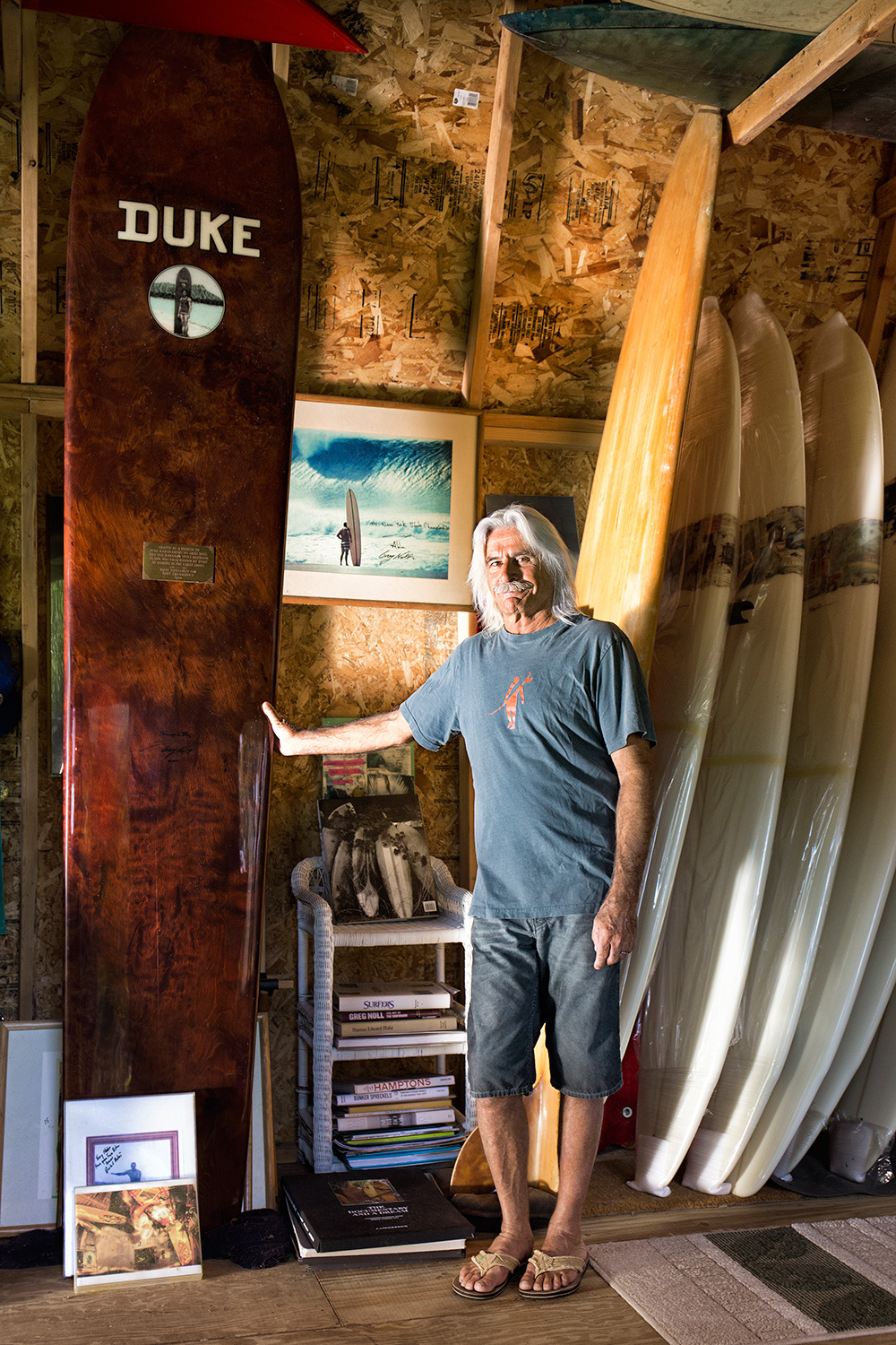 Tony Caramanico, Artist, Retired Professional Surfer, Fort Pond Bay