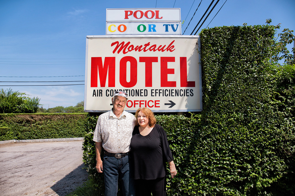 Ralph & Claire Mayer, Owners, Operators, Montauk Motel