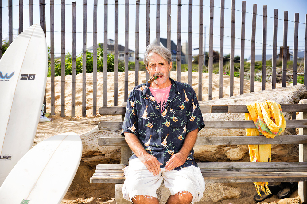 Allan Weisbecker, Writer, Filmmaker, Ditch Plains Beach