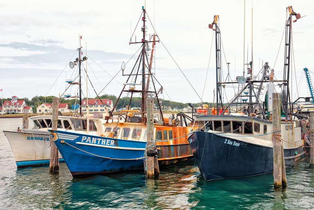 Fishing Boats, Town Dock