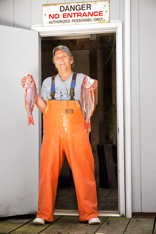 John Scheu, Fisherman, Gosman Fish Market