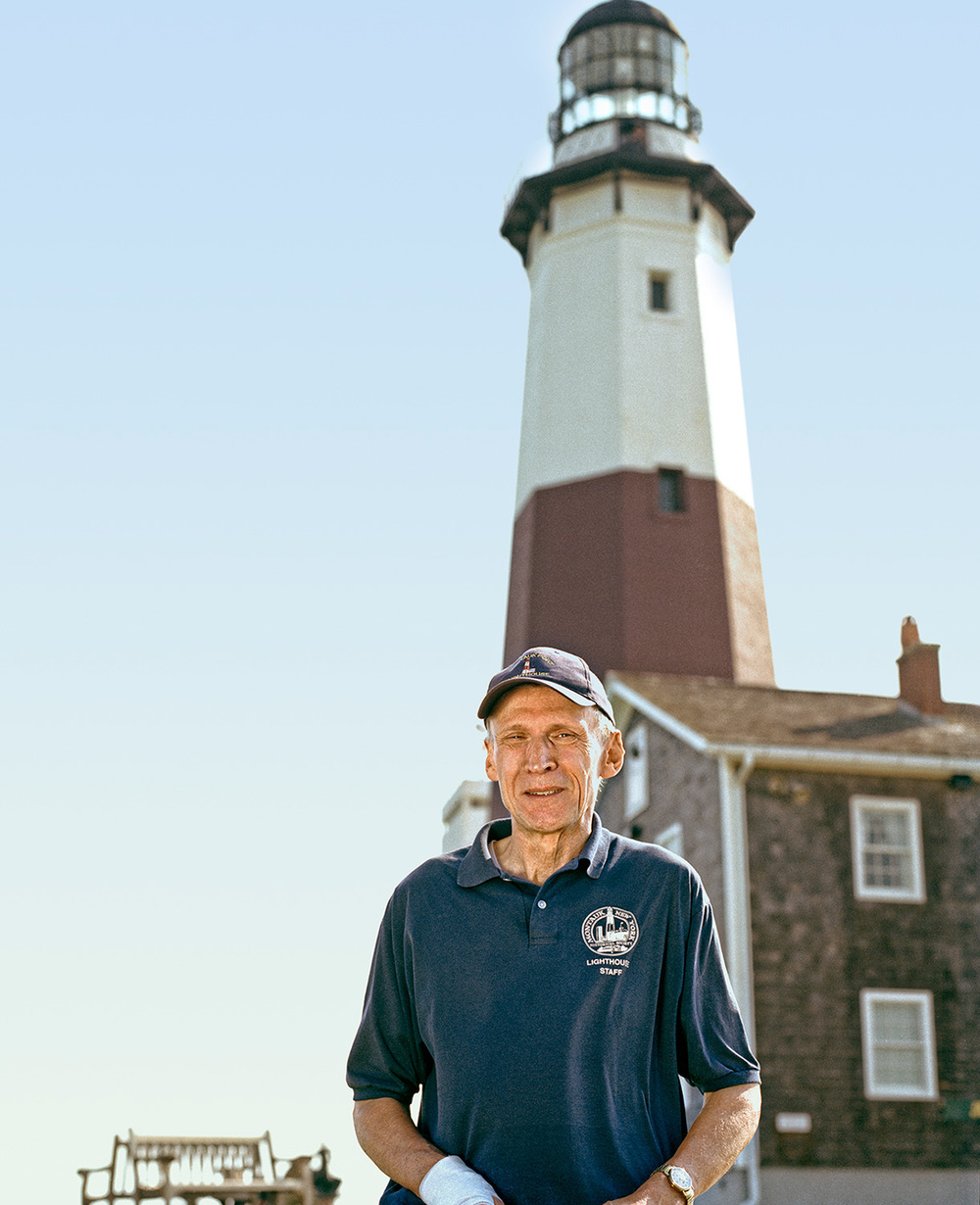 Henry Osmers, Tour Director, Historian, Montauk Point Lighthouse